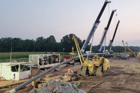 Michels Canada completes Canada's longest HDD installation